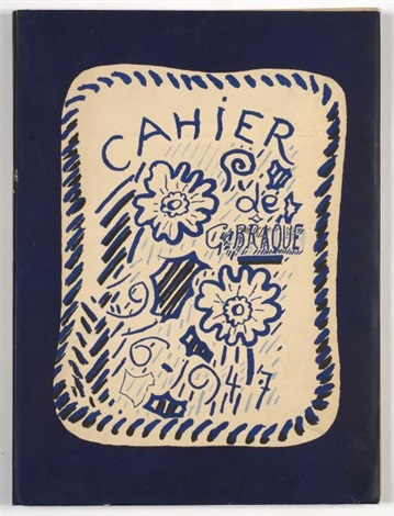 cahier de georges braque bk w1 work by georges braque