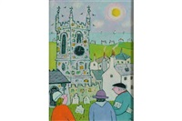 the church tower by joan gillchrest