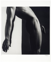untitled (milton moore) by robert mapplethorpe