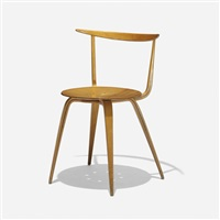 pretzel chair, model 5890 by george nelson & associates
