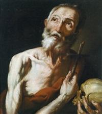 der heilige hieronymus, san gerolamo by hendrick van somer