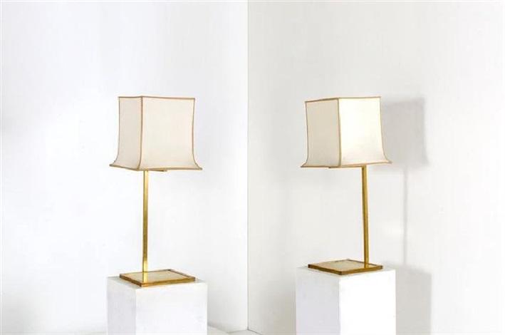 Perenz lampada da tavolo moderna in cromo spazzolato serie