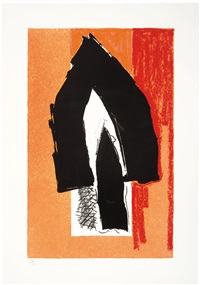 black cathedral by robert motherwell