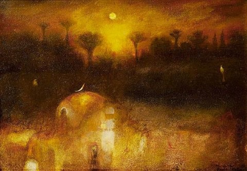 mystery of sunset by suad al attar