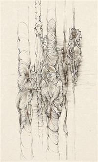 les colonnes by hans bellmer