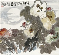 牡丹 by xiao huan