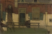 in the courtyard by henri van daalhoff