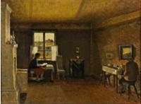 interior by väinö kamppuri