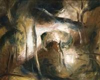 paysage de sous-bois by giorgios (gounaro) gounaropoulos