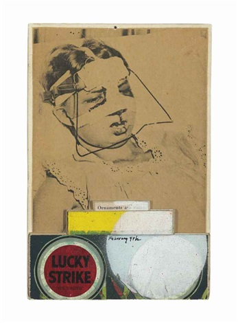 untitled ornament by ray johnson