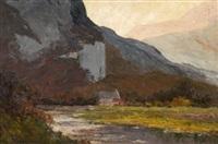 le rocher de sassenage dans l'isère by alfred vachon