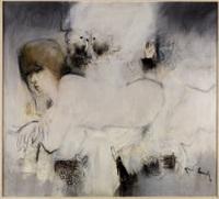 donna e finestra by fernando eandi