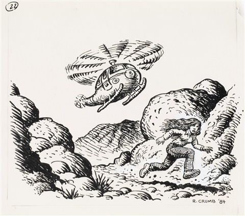untitled from the monkey wrench gang by robert crumb