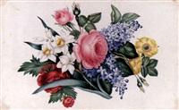 blomsterstilleben by moritz tettelbach