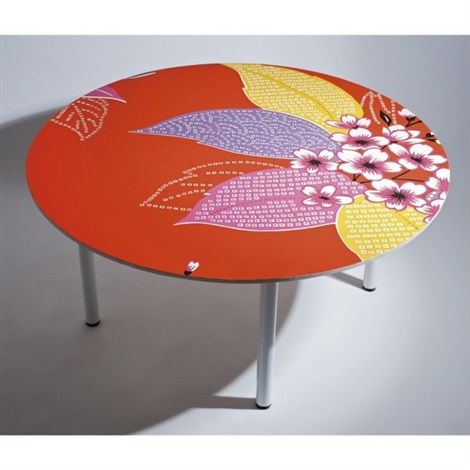 garden passage table 1 by michael lin