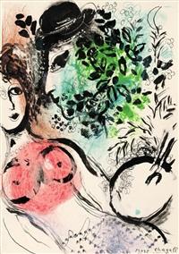 le peintre et son modele by marc chagall