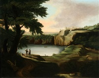 landscape with figure by jan asselijn