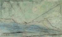 dünen (dunes) by lyonel feininger