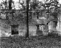 ruins of a supposed spanish mission of tabby construction, st. mary's, georgia by walker evans