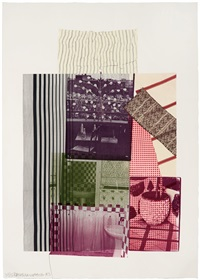 pre-morocco (from eight by eight to celebrate the temporary contemporary) by robert rauschenberg