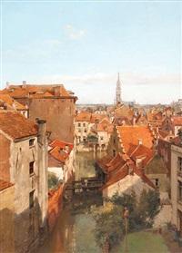 le bras de la senne rue saint-géry by jean baptiste van moer