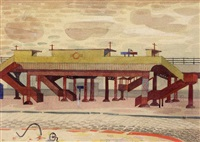 old elevated railway, liverpool by mary adshead