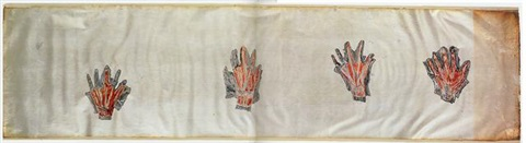 untitled hands by kiki smith