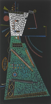 in der höhe (in height) by wassily kandinsky