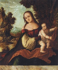 the virgin and child by danube school (16)