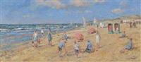 sur la plage by arie van noort