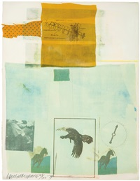 why you can't tell #2 (from suite of nine prints) by robert rauschenberg
