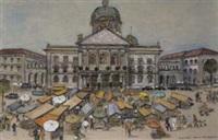 bern, bundeshauptplatz by brigitte fabian