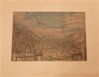 berglandschaft by alberto giacometti