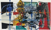 blue jeans by david salle