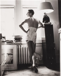 untitled (hamish bowles) by steven meisel