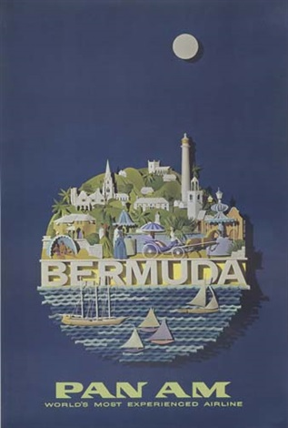 pan am bermuda by raymond ameijide