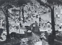 community picnic by howard daniel becker