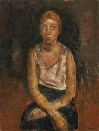 portrait féminin by paul maas