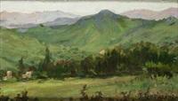 paisaje de cantabria by tomas campuzano y aguirre