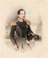 portrait of tsarevich alexander nikolaevich by vladimir ivanovich hau