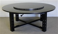 cassina ds3 table by charles rennie mackintosh