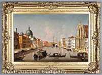 capriccio of venice from the bacino di san marco by bernardo bellotto