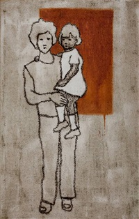 madonna con bambino by valerio berruti