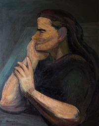 strong woman by david alfaro siqueiros