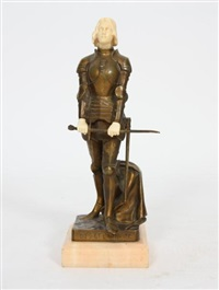 jeanne d'arc by george ernest saulo