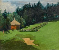 trou du golf de sainte barbe by pierre labrouche