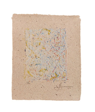 0 through 9 ulae 190 by jasper johns