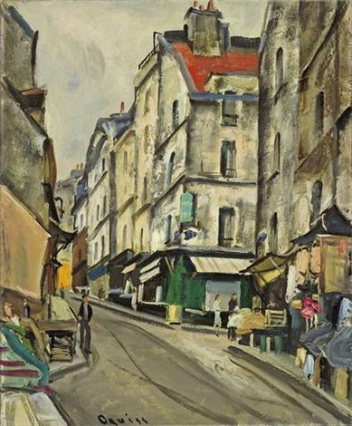 rue mouffetard paris by takanori oguiss