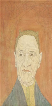 psychic portrait by austin osman spare