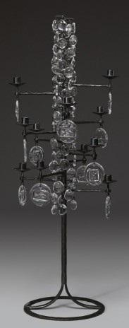 golvkandelaber för 12 ljus by erik höglund